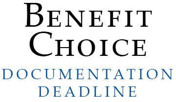 Benefit Choice Documentation Due Soon