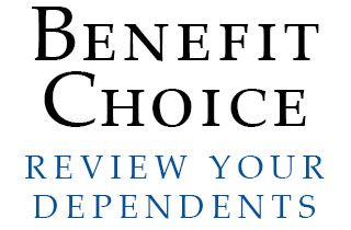 Benefit Choice Ends June 1