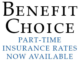 Part-Time Insurance Rates Available