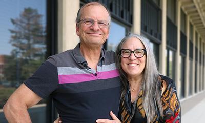 Drs. Dan Morrow and Liz Stine-Morrow