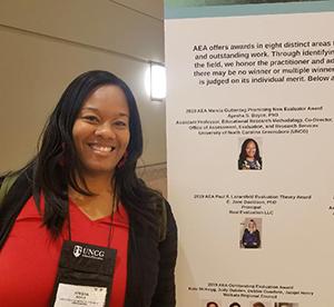 EPSY Alumna Ayesha Boyce, PhD, win AEA 2019 Marcia Guttentag Promising New Evaluator Award