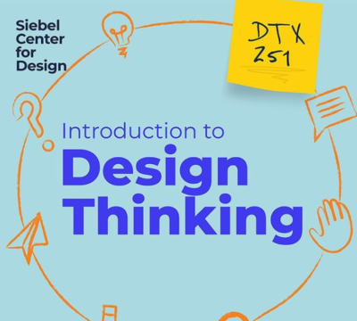 Siebel Center for Design's Intro to Design Thinking for Educators