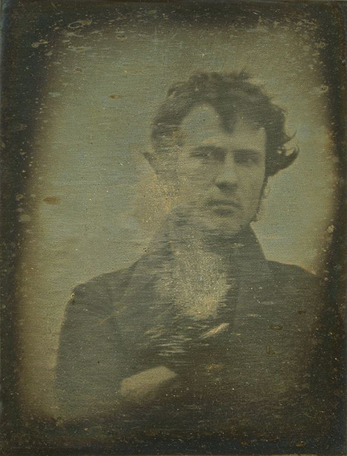 Robert Cornelius--first photo selfie