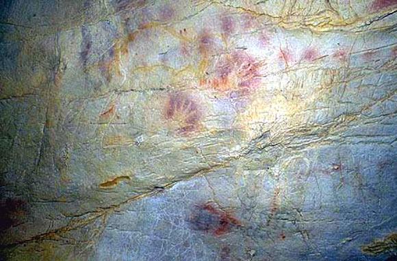 Paleolithic hands