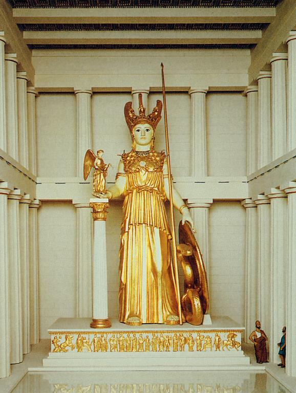 Athena Parthenos, by Phidias (reconstruction)