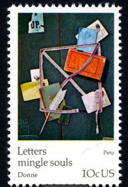Letters mingle souls