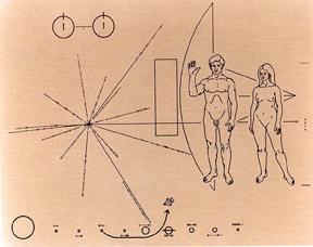 1970s NASA plaque