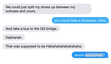 Jewish autocorrect?