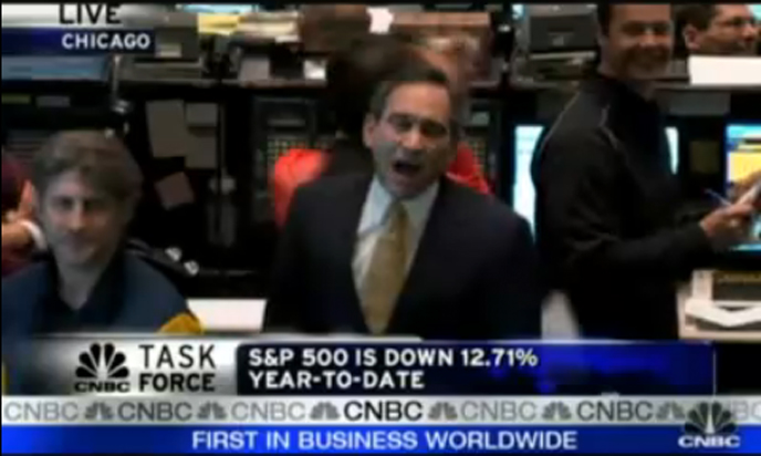 CNBC's Rick Santelli calls for a Chicago Tea Party to protest the bailout