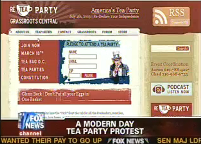 reteaparty.com calls on protestors to
