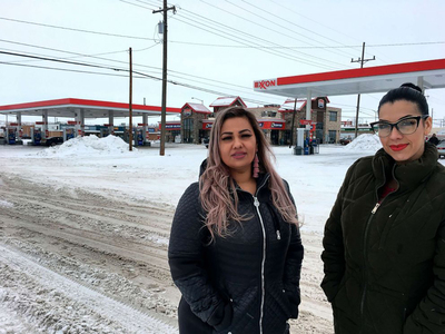 Ana Suda and Martha Hernandez were detained in Havre, Montana, by a Customs and Border Patrol agent for speaking Spanish