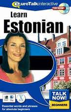 Learn Estonian poster