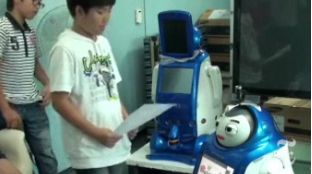 ENGKEY the Korean English-teaching robot