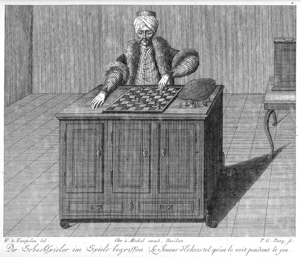 The Turk, an 18th-century chess-playing automaton