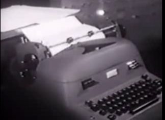 The mindwriter is a typewriter hooked up to the computer