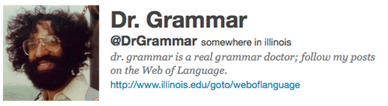 DrGrammar is a real grammar doctor