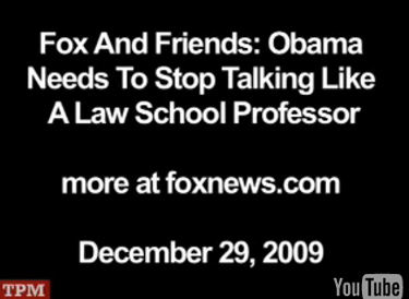 Fox and Friends: Obama needs to stop talking like a law school professor