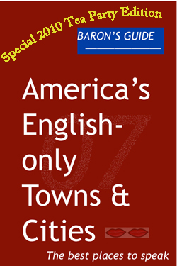 barons guide to america's english-only towns and cities