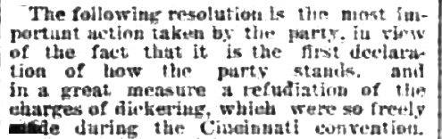 Refudiate in an 1891 newspaper:
