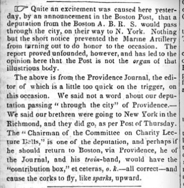Earliest occurrence of 'o.k.,' a jocular, intentionally-misspelled shortening of 'all correct,' on Mar. 23, 1839.