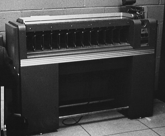 An IBM sorter as used on