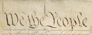 Opening of the Constitution: We the People