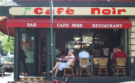 Photo of French restaurant called Cafe Noir