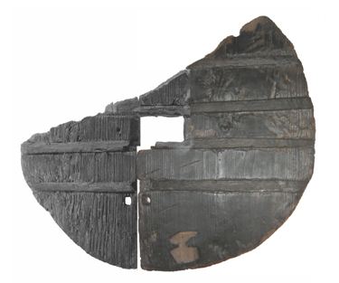 The oldest wooden wheel found