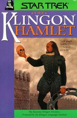 Klingon in Hamlet, book cover