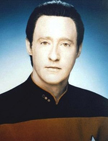 Mr. Data, from Stark Trek TNG
