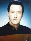 Mr. Data, from Stark Trek TNG