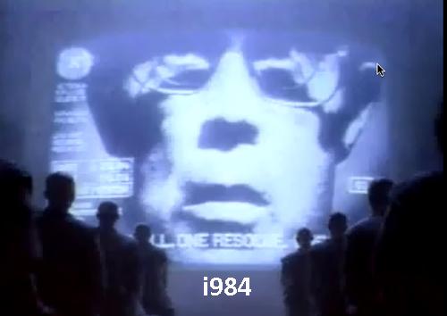 Apple's 1984 ad rebranded i984