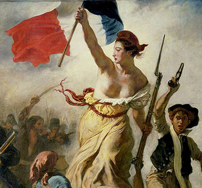 La Marianne, symbol of the French Revolution