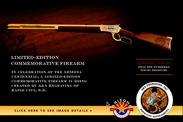 Arizona centennial rifle