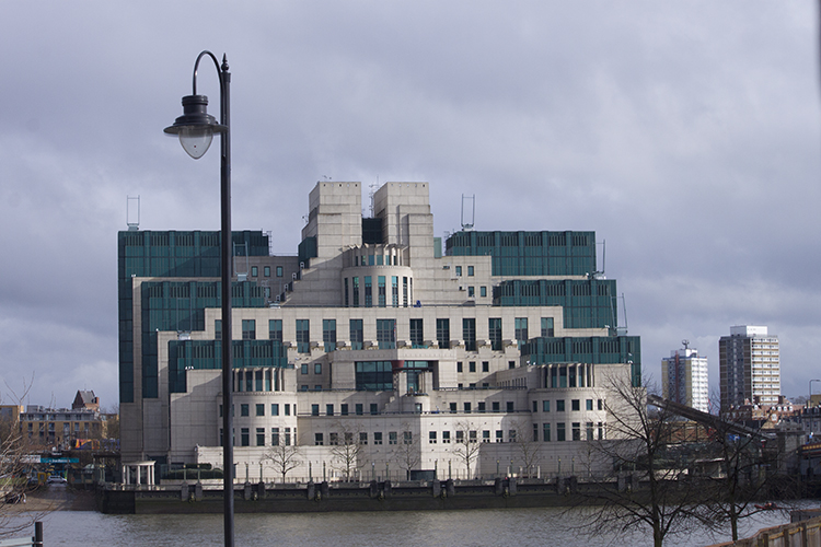 MI 6 from the