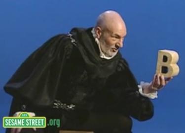 Patrick Stewart updates Hamlet's soliloquy for Sesame Street