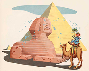 Bozo the Clown solves the Riddle of the Sphinx