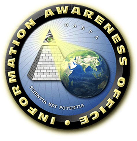 Logo for DARPA's Total Information Awareness program