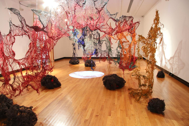 Nkata: An Installation by Nnenna Okore at Krannert Art Museum, Aug. 28 through Dec. 23, 2015