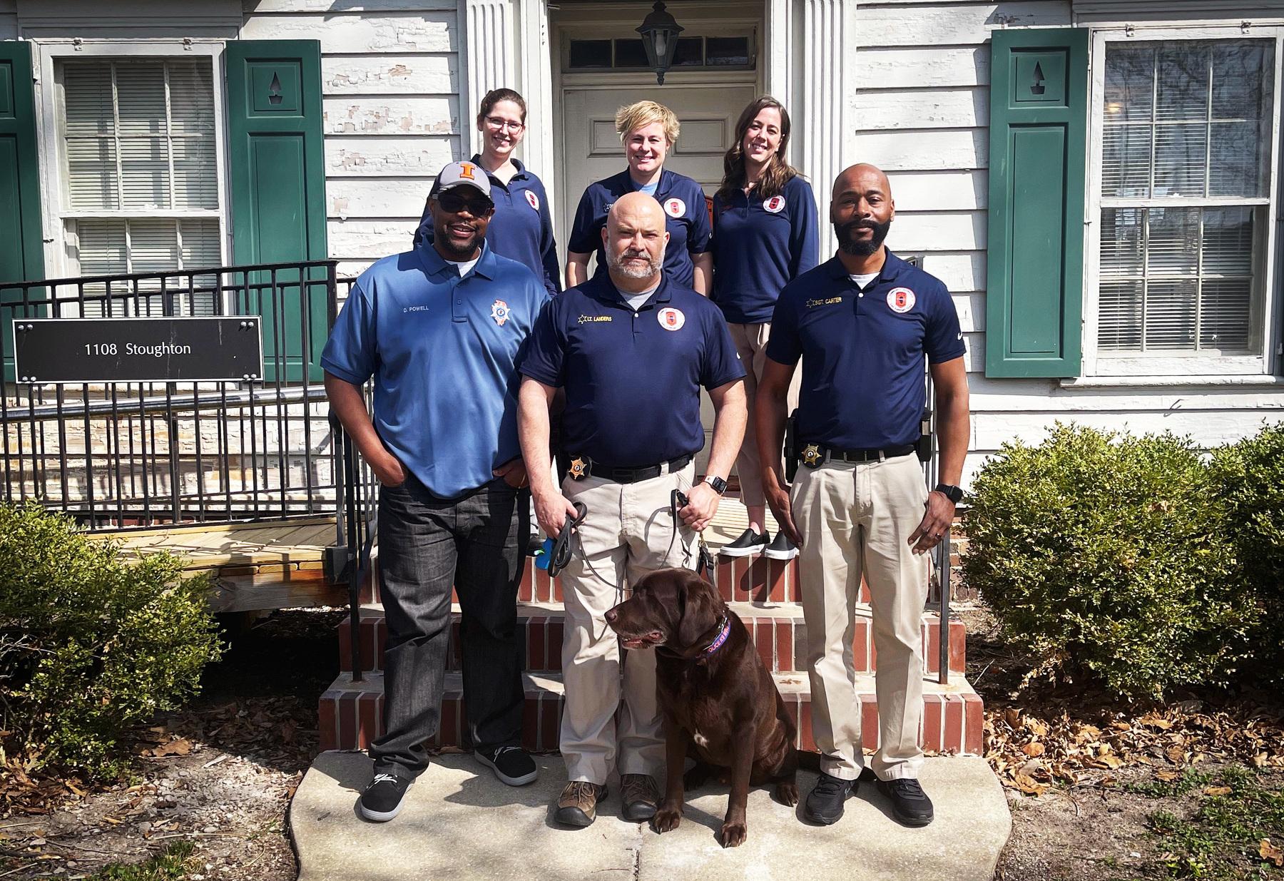 COAST team poses for photo