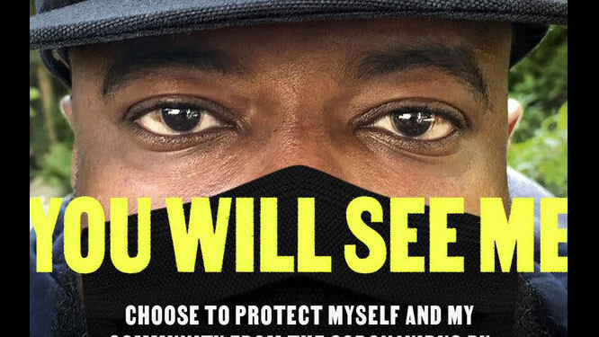 The Ad Council ran a masking campaign this year focused on Black Americans.Credit...Ad Council