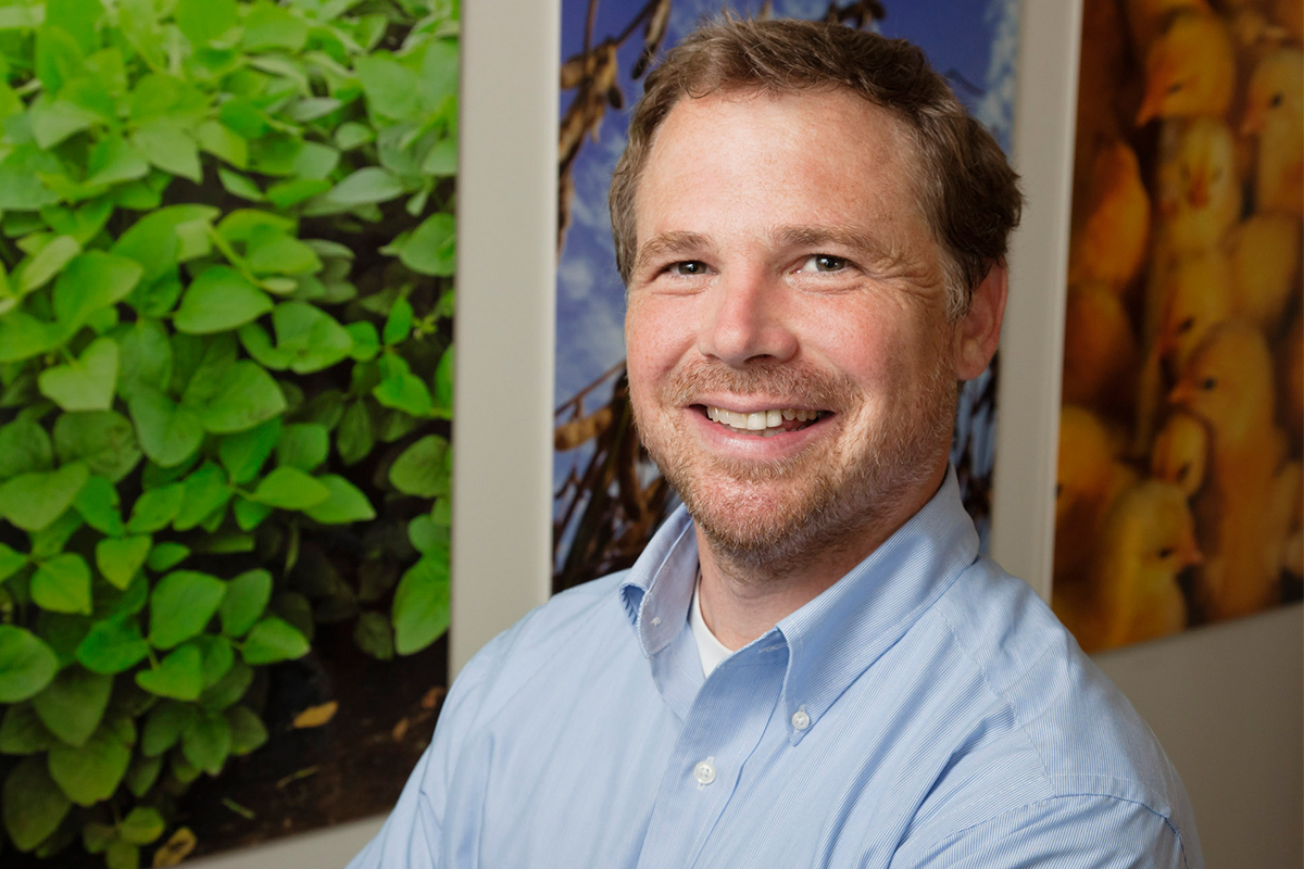 Professor Craig Gunderson. Photo by L. Brian Stauffer