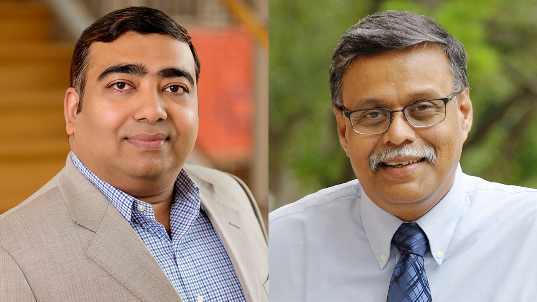 Illinois business professors Ujjal Kumar Mukherjee and Sridhar Seshadri