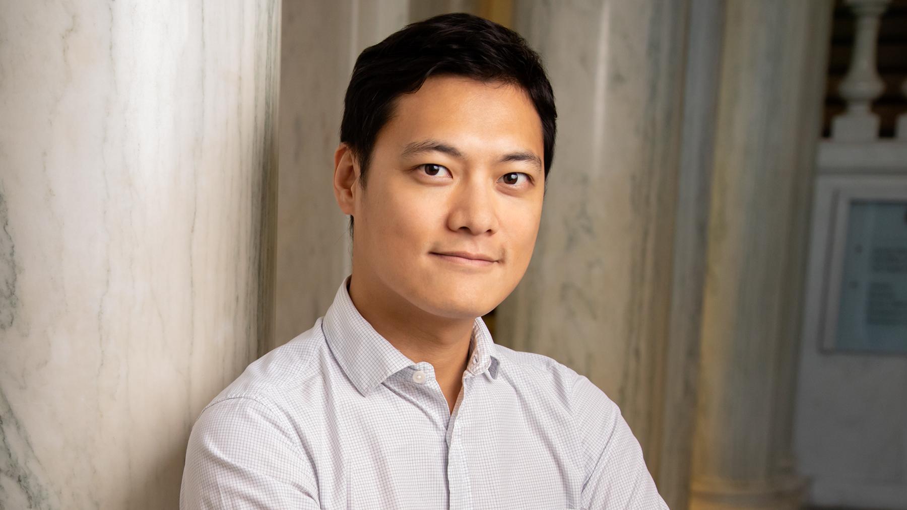 communication professor JungHwan Yang.  Photo by L. Brian Stauffer