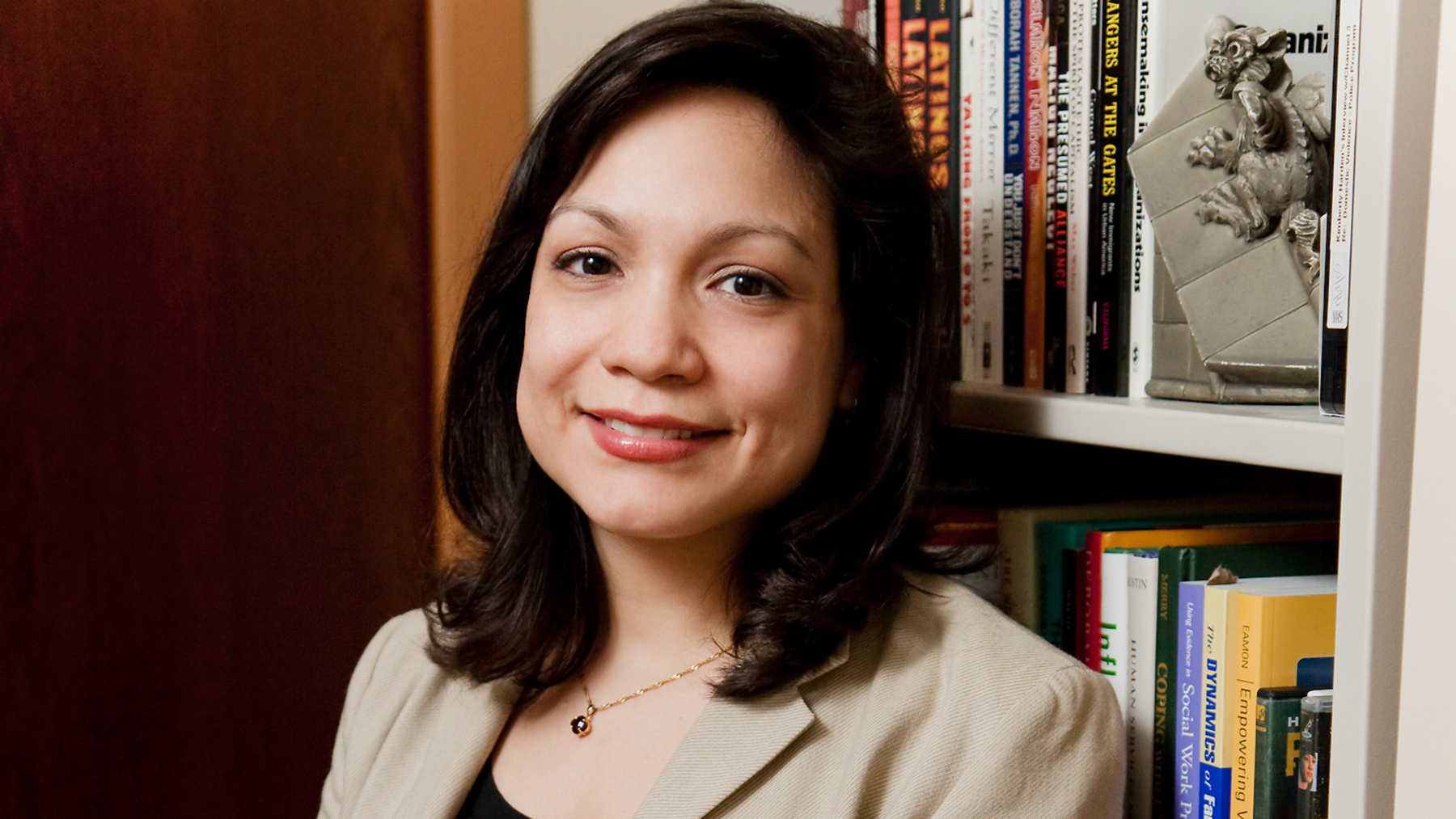 social work professor Lissette Piedra.  Photo by L. Brian Stauffer