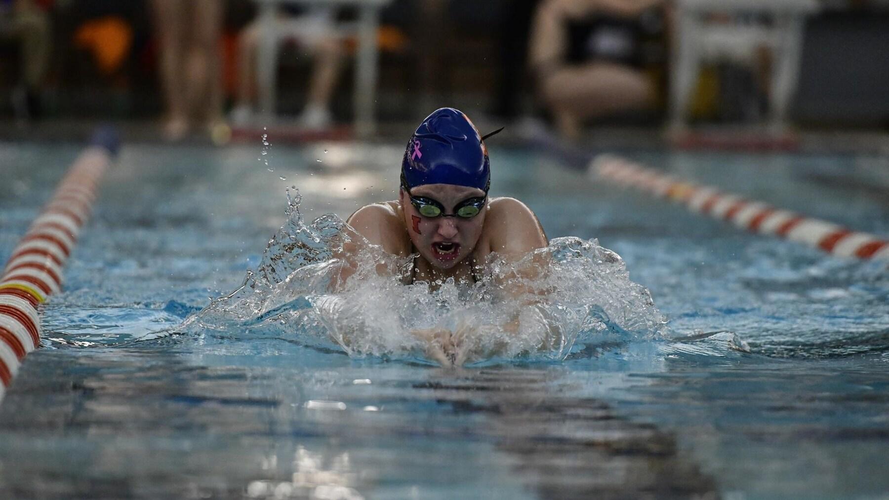 Illini swimmer competes in 2020