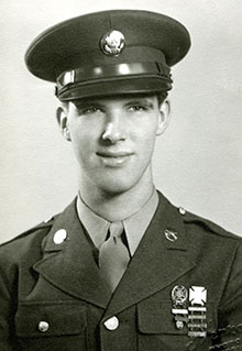 James Snively of Rockford, Ill., entered the University of Illinois as a member of the Class of 1942 before he enlisted to serve during World War II.