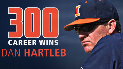 University of Illinois baseball head coach Dan Hartleb