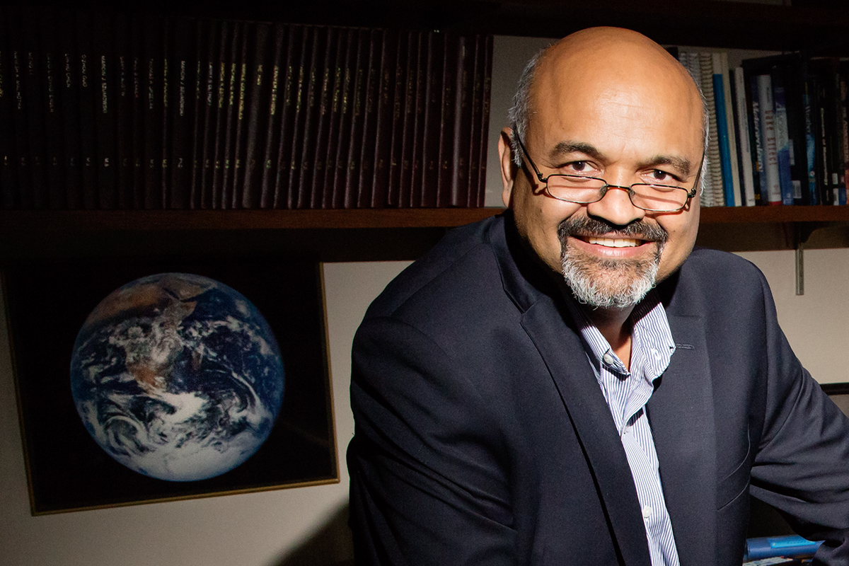 Illinois atmospheric sciences professor Atul Jain. Photo by L. B. Stauffer