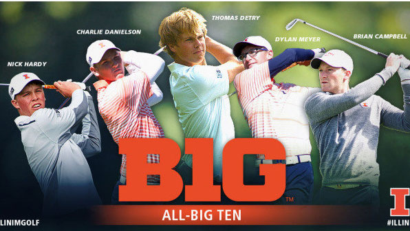 composite image of all big ten players